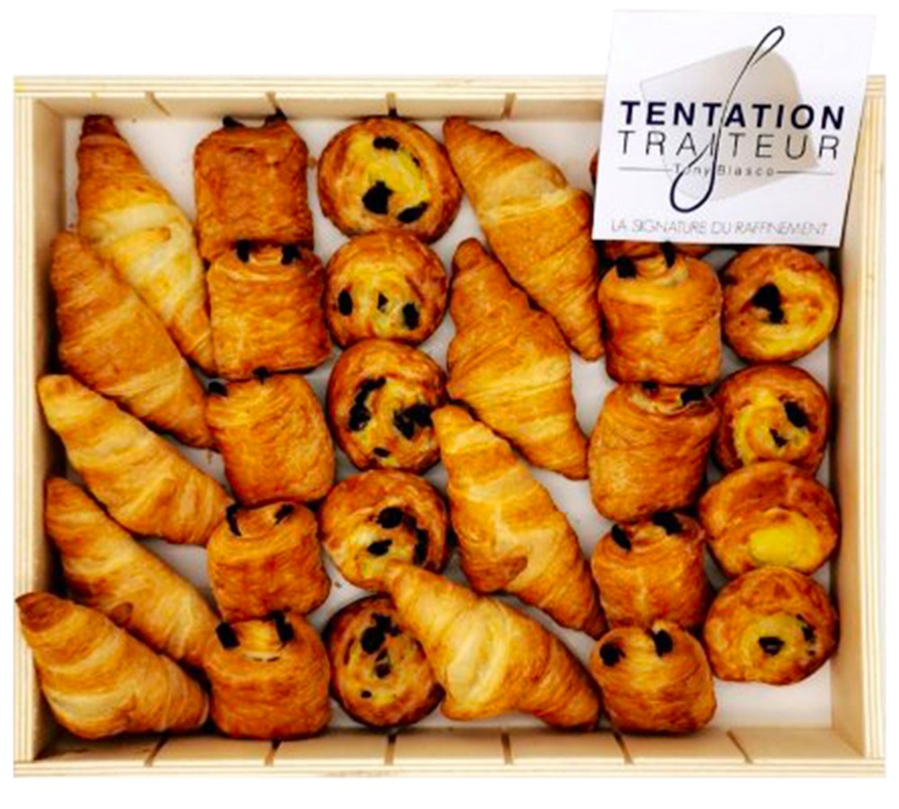 Coffret de mini-Viennoiseries